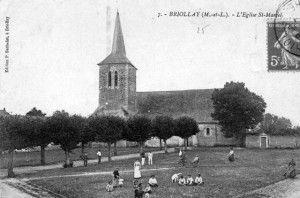 Place de l Eglise 1913